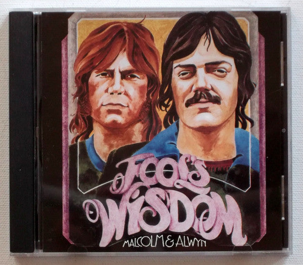 Malcolm & Alwyn ‎– Fool's Wisdom (*Used-CD, 1991, Footstep Records) Classic early Jesus Music psych/folk