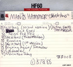 MAN & HAMMER - SKELETONS 1988 Xian Alternative Metal Industrial Demo Tape