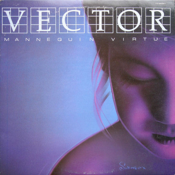 VECTOR - MANNEQUIN VIRTUE (*Used-Vinyl, 1983, Exit Records) Charlie Peacock