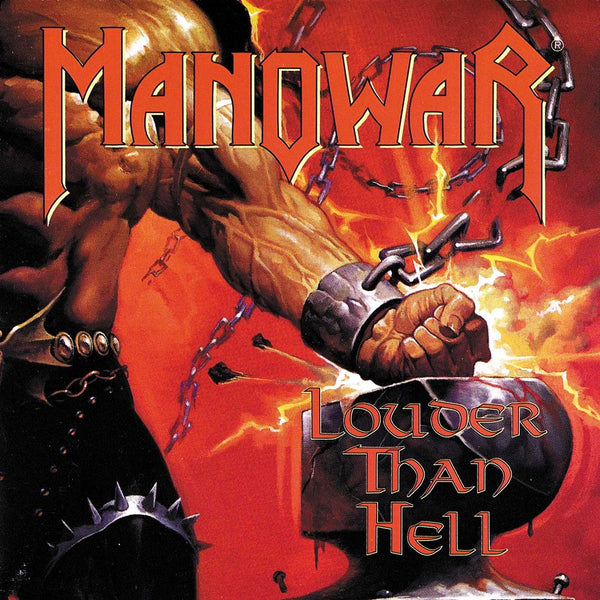 MANOWAR - LOUDER THAN HELL (*Used-CD, 1996, Geffen)