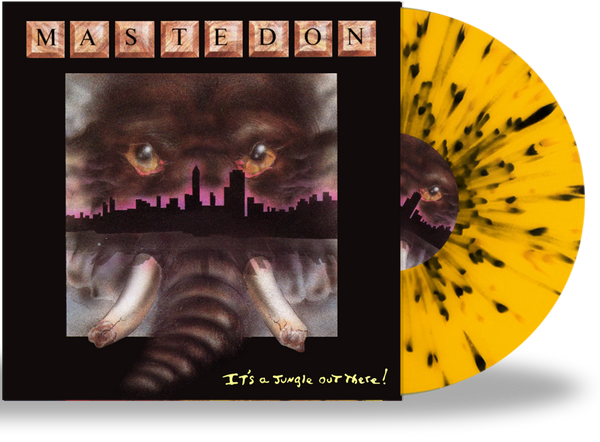 MASTEDON - IT'S A JUNGLE OUT THERE (*NEW-Splatter Vinyl, 2020, Girder) Elite Remaster AOR/Hard Rock