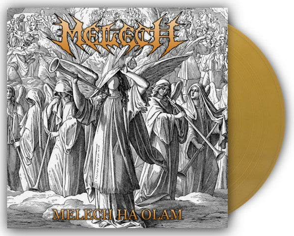 Melech – Melech Ha Olam (*NEW-VINYL, 2017, Nordic Mission) Christian Death Metal