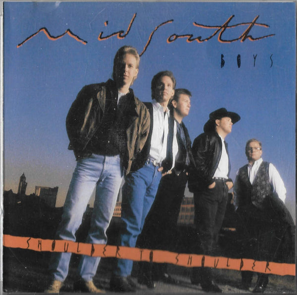 MID SOUTH BOYS - SHOULDER TO SHOULDER (*Used-CD, 1991) Excellent Christian country