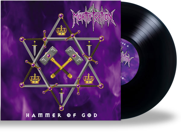Mortification - Hammer Of God (*NEW-Black Vinyl, 2021) First time on vinyl!