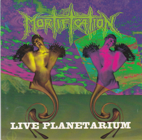 MORTIFICATION - LIVE PLANETARIUM (*Used-CD, 1993, Intense Records)