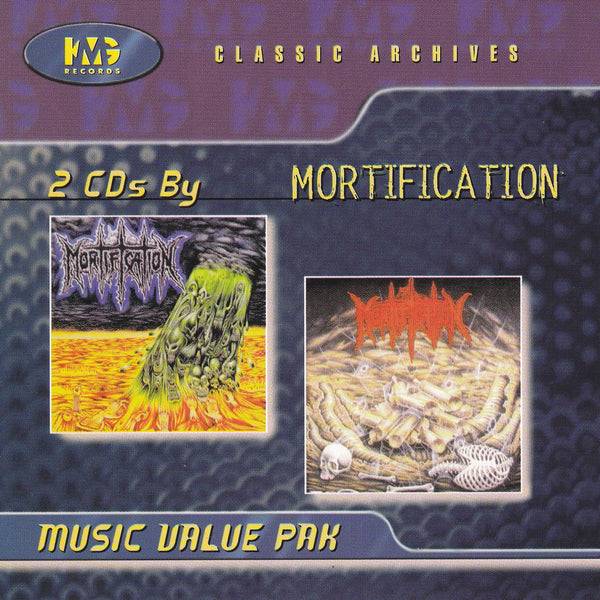 MORTIFICATION - S/T DEBUT + SCROLLS OF THE MEGILLOTH (*Used-2 CD Set, 1998, KMG)