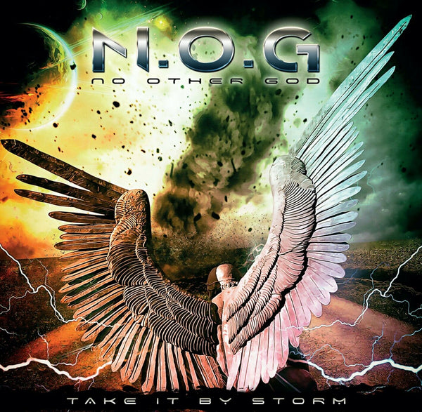 N.O.G. - TAKE IT BY STORM (*NEW-CD, 2019, Roxx) Dale Thompson/Bride