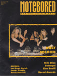 NOTEBORED MAGAZINE MARCH/APRIL 1992 VOL. V, No 5 HOLY SOLDIER Cover + BETRAYAL