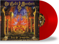OF GODS & MONSTERS - SONS OF ARMAGEDDON (NEW-VINYL Black or Red, 2020, Retroactive) 200 Red / 100 Black - Tim Gaines of STRYPER + Dead Daisies/Hardline/Omen/Journey