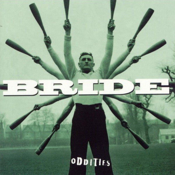 BRIDE - ODDITIES (*Used-CD, 1998, Organic Records) Dino & John Elefante Prod, Guardian plays