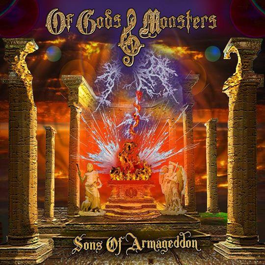 OF GODS & MONSTERS - SONS OF ARMAGEDDON (*NEW-CD, 2020) Dio-esque w ex-Stryper (Gaines), ex-Omen, Dead Daisies, Bad English