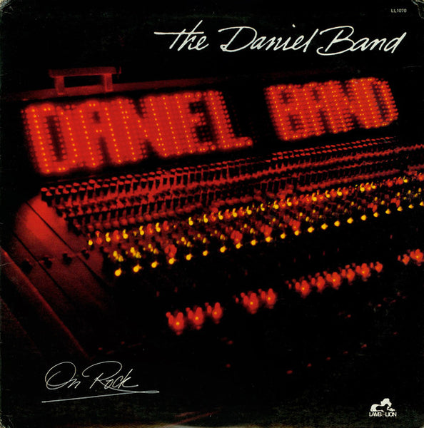 DANIEL BAND - ON ROCK (*Used-VINYL, 1982, Lamb & Lion)