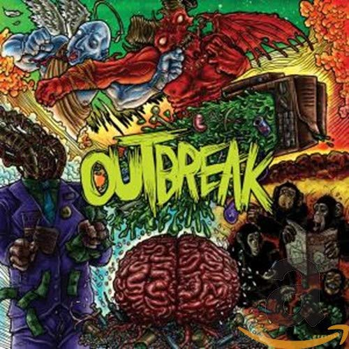 OUTBREAK - OUTBREAK (*Pre-Owned CD, 2009, Trustkill) 80's Metal influenced Metalcore