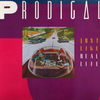 PRODIGAL - JUST LIKE REAL LIFE (*New-Vinyl, 1985, Heartland) amazing new wave rock