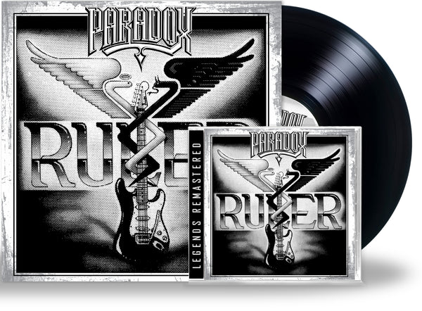 PARADOX - RULER (Legends Remastered) (*NEW-CD + Vinyl Bundle, 2020, Retroactive) For fans of Recon & Sacred Warrior! ***PRE-ORDER