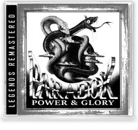 PARADOX - POWER & GLORY (*NEW-CD, 2020, Retroactive) For fans of Stryper/Sacred Warrior/Recon ***PRE-ORDER