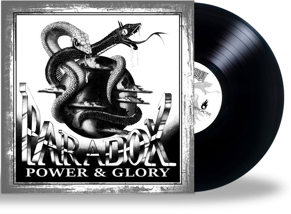 PARADOX - POWER & GLORY (*NEW-180 Gram BLACK VINYL, 2020, Retroactive) For fans of Stryper/Sacred Warrior/Recon ***PRE-ORDER
