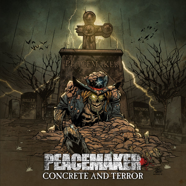 PEACEMAKER - CONCRETE & TERROR (*NEW-CD, 2018, Brutal Planet Records) Tango Down/Metal Church/TSO members