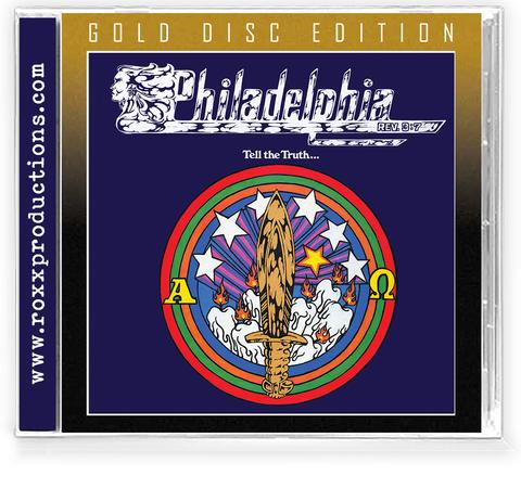 PHILADELPHIA - TELL THE TRUTH (*NEW-Gold Disc Edition, 2021, Roxx) Brilliant Classic Christian Metal!