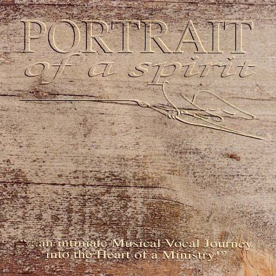 Various ‎– Portrait Of A Spirit (*Used-CD, 1991, Pakaderm) X-sinner, Guardian, Halo, Richie Furay etc acoustic