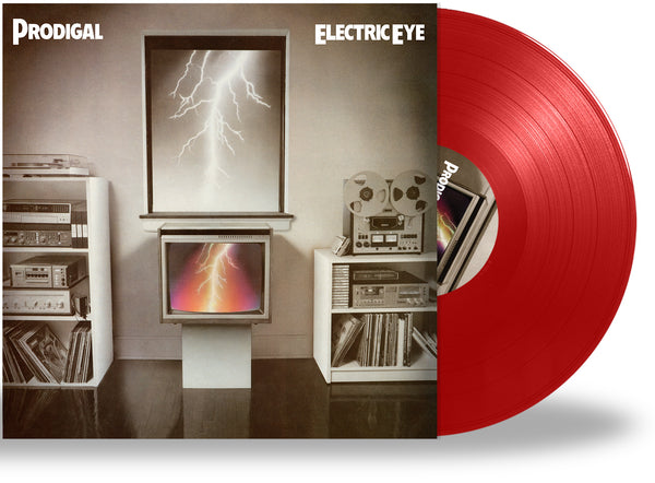 PRODIGAL - ELECTRIC EYE (*NEW-RED VINYL, 2020, Retroactive Records) New 2020 Easter Egg C-64 Code + Mastered from Original Analog Tape