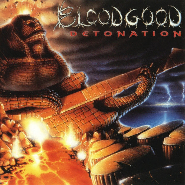 BLOODGOOD - DETONATION (*Pre-Owned CD, Alarma Records CDP70919) Original Issue