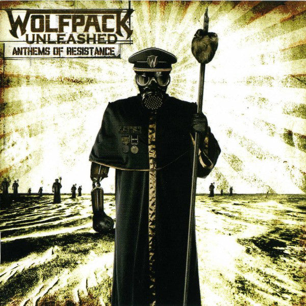 Wolfpack Unleashed ‎– Anthems Of Resistance (*CD Pre-Owned, 2007, Napalm Records) Thrash Speed Metal ala Megadeth/Metallica