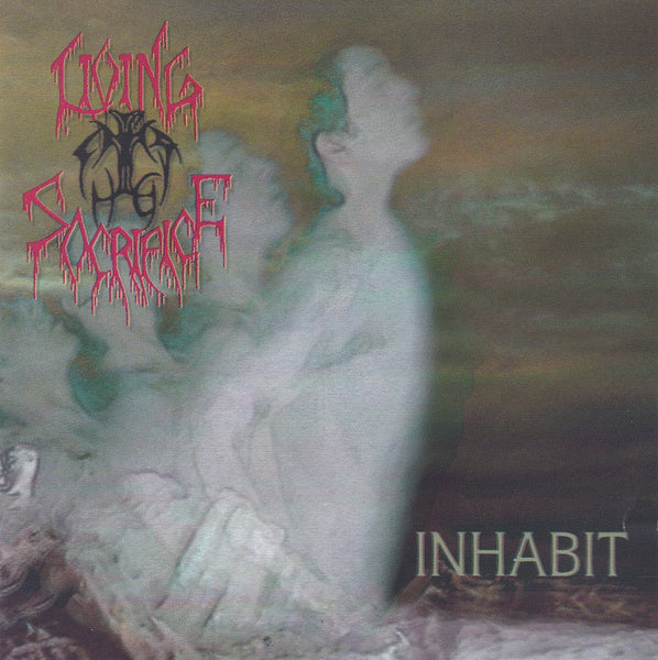 LIVING SACRIFICE - INHABIT (*Used-CD, 1994, R.E.X.) Original Issue Christian Death Metal