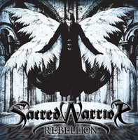 SACRED WARRIOR - REBELLION (*NEW-CD, 2010, Intense Millennium) rare reissue