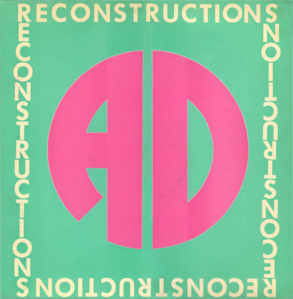 AD - RECONSTRUCTION (*Used-Vinyl, 1986, Sparrow) Kerry Livgren/Kansas