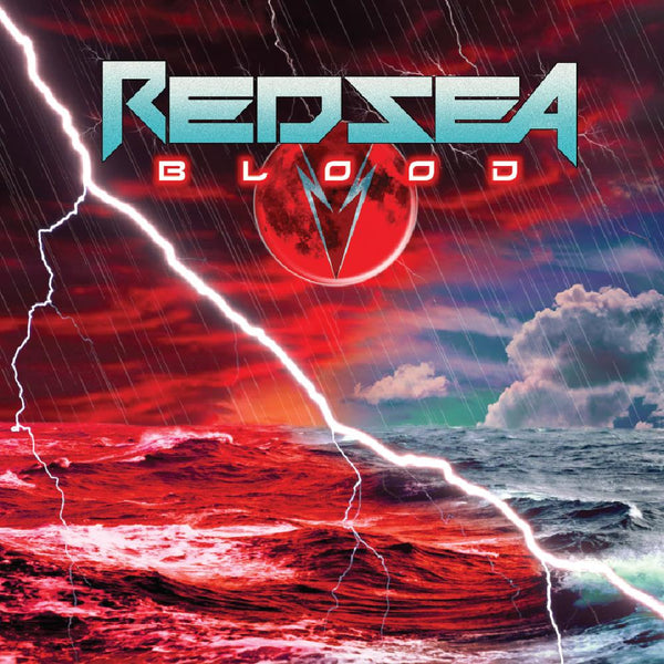 RED SEA - BLOOD (*NEW-CD, 2019, Roxx) feat Badlands axeman Greg Chaisson!
