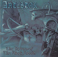 ANTESTOR - THE RETURN OF THE BLACK DEATH (*CD, 1998,  Cacophonous Records) Very Rare! Black Metal