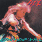 REZ/RESURRECTION BAND - BETWEEN HEAVEN 'N HELL (*Used-CD, 1984, Sparrow) Original Issue