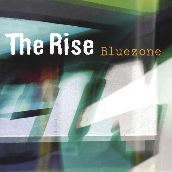 THE RISE - BLUEZONE (*Used-CD, 2004, Talking Music) Sonny Larson of XT/Motherlode + 2 ex-Jerusalem