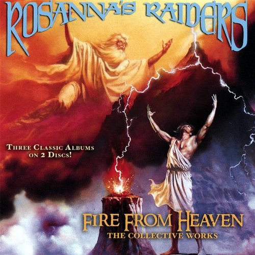 ROSANNA'S RAIDERS - FIRE FROM HEAVEN (*2-CD Set, 2007, Retroactive Records) 3 albums on 2 CDs