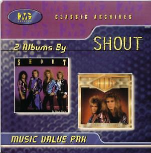 SHOUT - IT WON'T BE LONG & IN YOUR FACE (*NEW-CD, 1999, KMG Records)