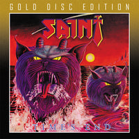 SAINT - TIMES END (*NEW-GOLD DISC EDITION CD, 2020, Retroactive)