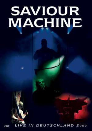 SAVIOUR MACHINE - LIVE IN DEUTSCHLAND 2002 (*NEW 2-DVD Set, 2002) Gothic, progressive powerful metal!