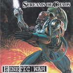 SCREAMS OF CHAOS - GENETIC WARFARE (*NEW-CD, 2003, Retroactive Records) Death/Black Metal