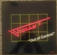 SHELLY T - OUT OF CONTROL (*Vinyl) 1987 Xian Metal AoR Victory Records Private Press