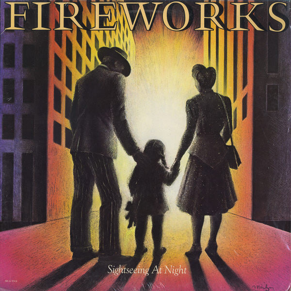 Fireworks ‎– Sightseeing At Night (*NEW-VINYL, 1982, MCA Songbird/Sparrow) Classic AOR