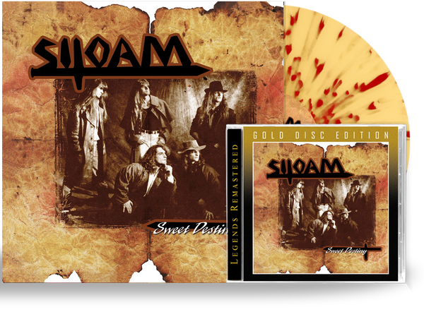 SILOAM - SWEET DESTINY BUNDLE *SPLATTER COLOR VINYL + CD-GOLD DISC EDITION, 2020, Retroactive)