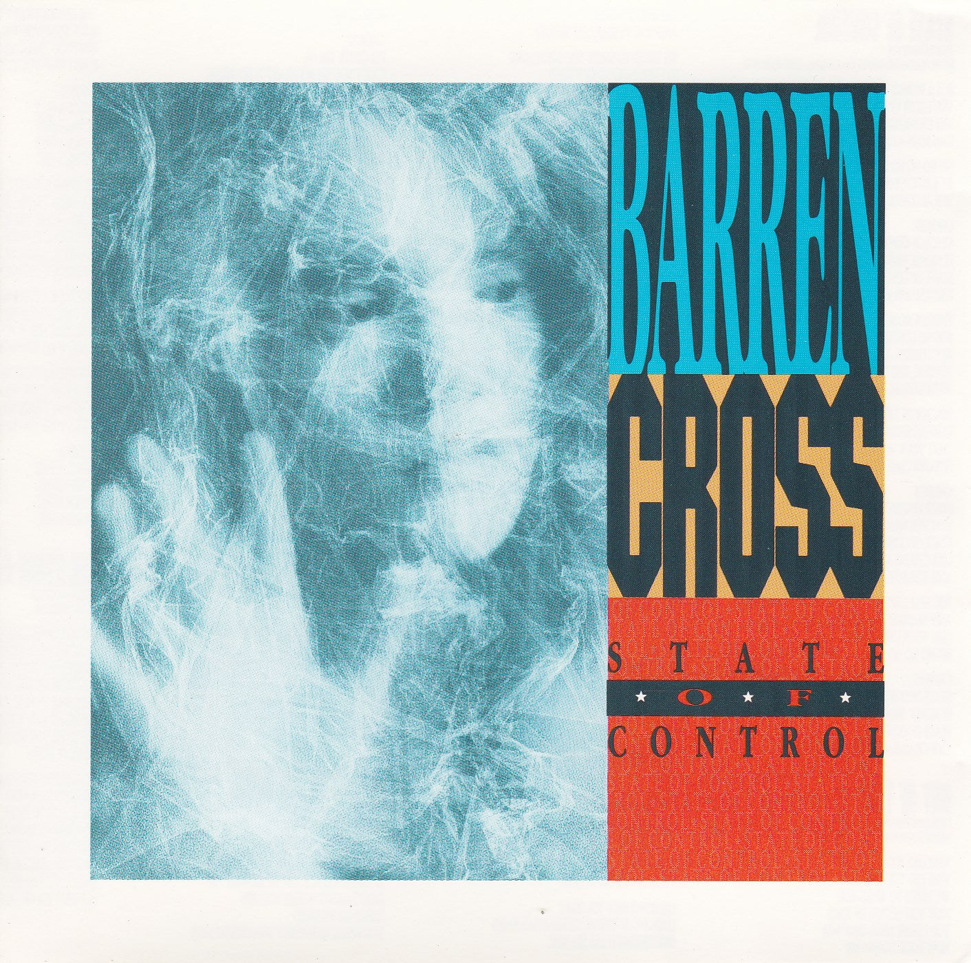 """BARREN CROSS - STATE OF CONTROL (*Used-CD, 1989, Enigma Records) Includes the song """"Escape in the Night"""""""""""