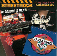 DEGARMO $ KEY - STREETROCK (*Used-CD, 1987, Power Discs)