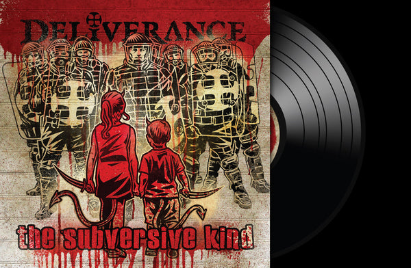 DELIVERANCE - THE SUBVERSIVE KIND (*NEW-BLACK VINYL, 2018, Roxx)