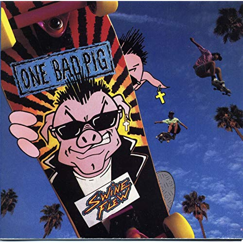 ONE BAD PIG - SWINE FLEW (*NEW-CD, 1990, Myrrh) Petra - Judas Kiss cover!