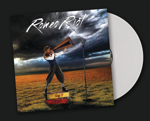 ROMEO RIOT - SING IT LOUD!  (*NEW-2018, WHITE VINYL, Brutal Planet Records)