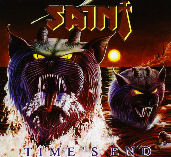 SAINT - TIMES END (*NEW-CD, 2011, Retroactive Records) Rare last copies!