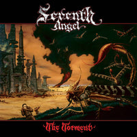 SEVENTH ANGEL - THE TORMENT (Legends Remastered) Orange Vinyl, 2018, Retroactive Records