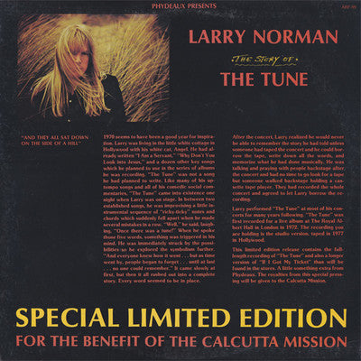 LARRY NORMAN - THE STORY OF THE TUNE (Vinyl, Phydeaux, 1983)